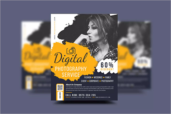 Photography Flyer Design Template