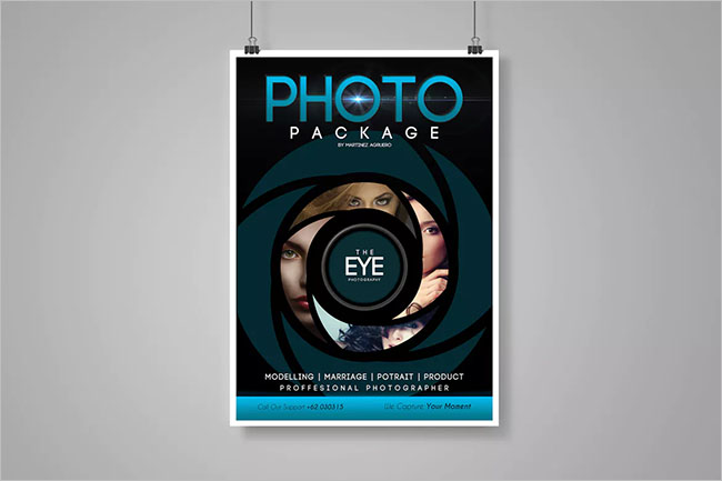 Photography Flyer Poster Template