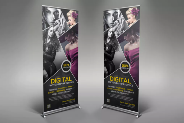 Photography Rollup Banner Design