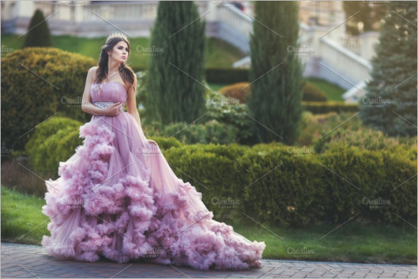 Photorealistic Dress Design Template