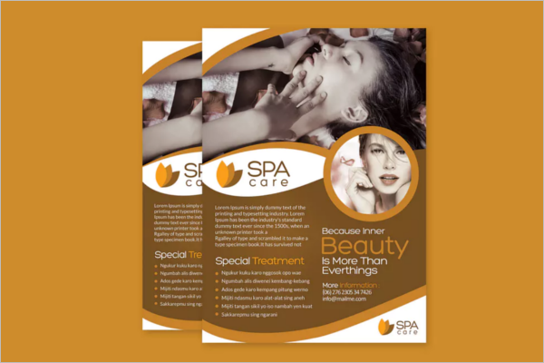 Photoshop Beauty Salon Design Flyer Template