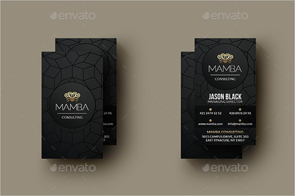 Photoshop Business Card Size Template