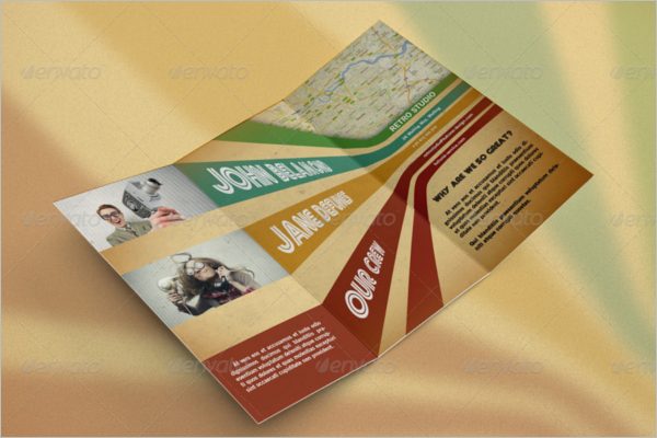 Photoshop Retro Brochure Template