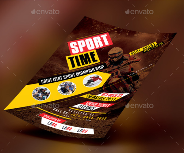 Photoshop Sports Event Flyer Template