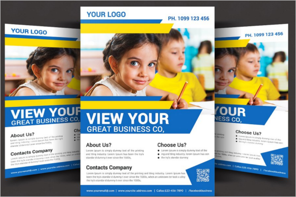 Photoshop Student Flyer Template