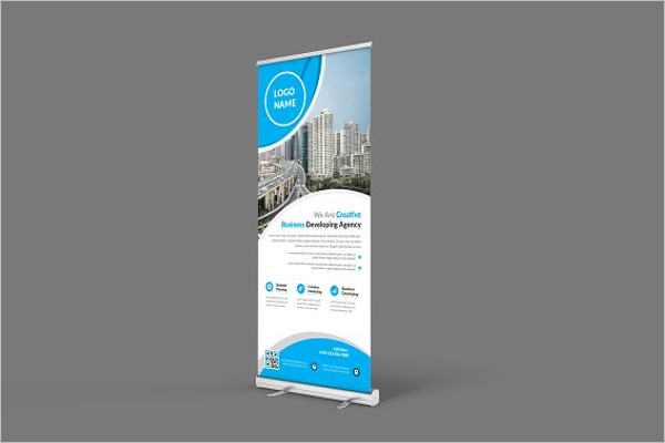 Photoshop Vertical Banner Template