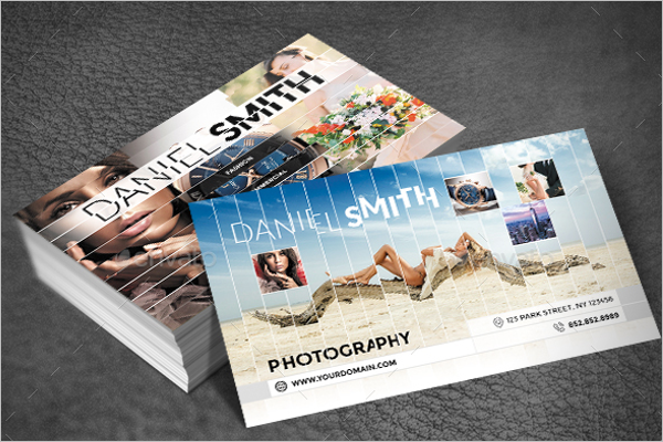 Photrealistic Photography Business Card Design