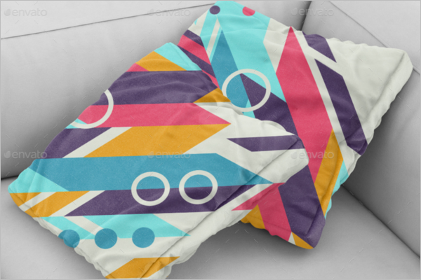 Pillow Mockup Cover Template