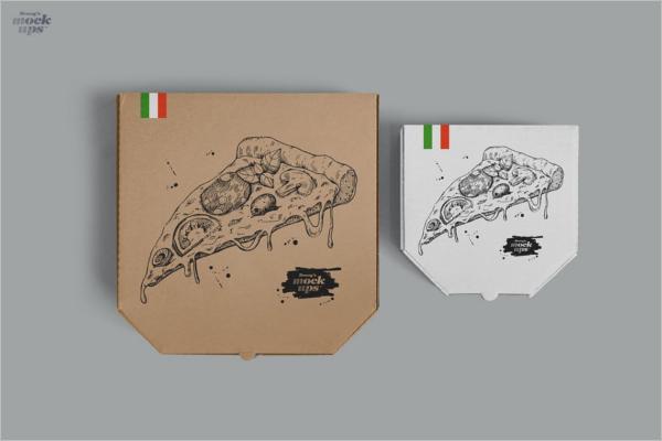 Pizza Box Mockup Download