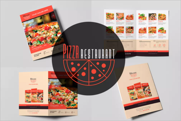 Pizza Hut Restaurant Menu Template
