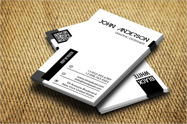 Plane Corporate Business Card Template