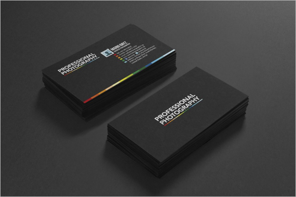 Plane Photography Business Card Design