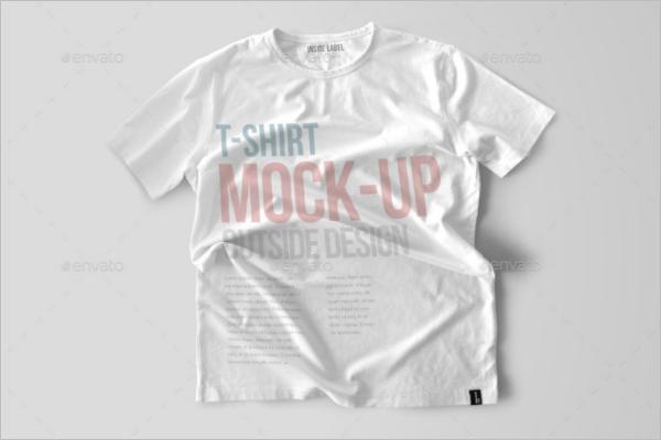 PlaneT-shirt Mockup Design