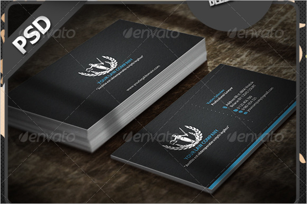 Police Department Business Card Design