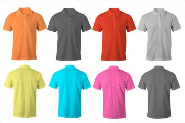 Polo t-Shirt Mockup Bundle