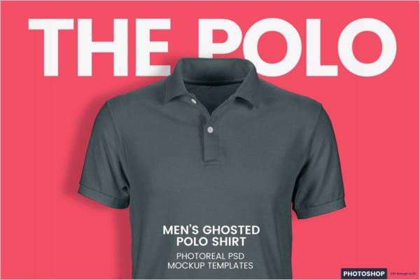 Polo t-Shirt Mockup PhotoShop Design