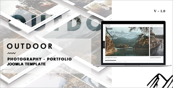 Portfolio Design Joomla Template