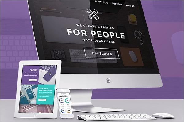 PortfolioEmail Design Template