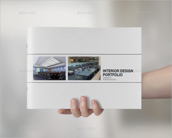 Portfolio Interior Design Template