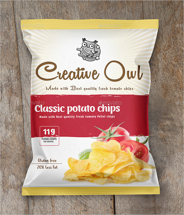 Pouch Packet Mockup Design