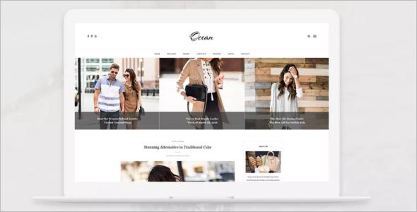 Premium Blog Design Template