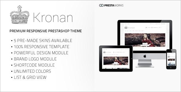 PrestaShop 1.5 Theme