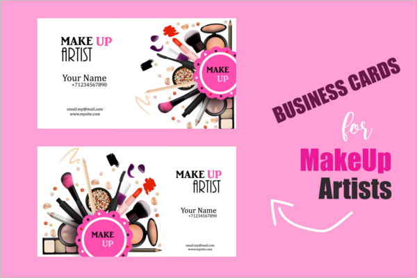 Printabe Artistic Business Card Design