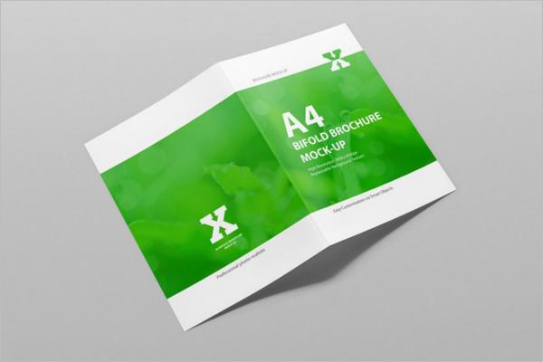 Printable A4 Brochure Mockup Template