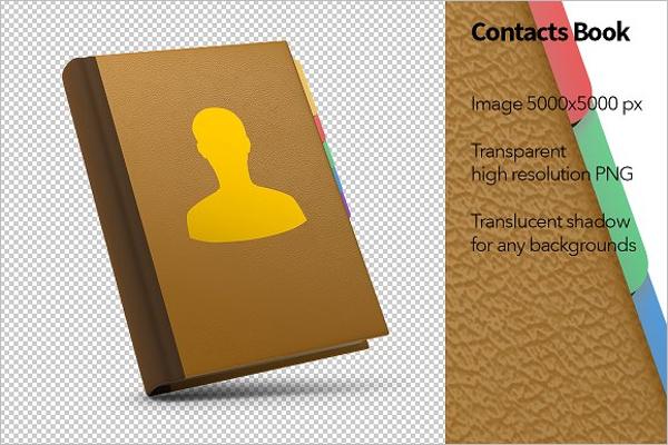 Printable Address Book Template