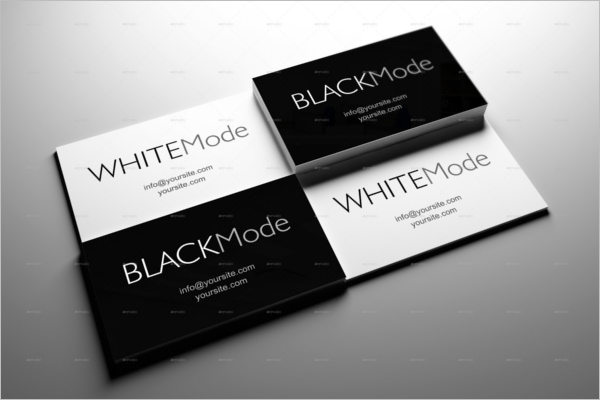 46 black white business card templates psd word free download printable black white business card template fbccfo Choice Image