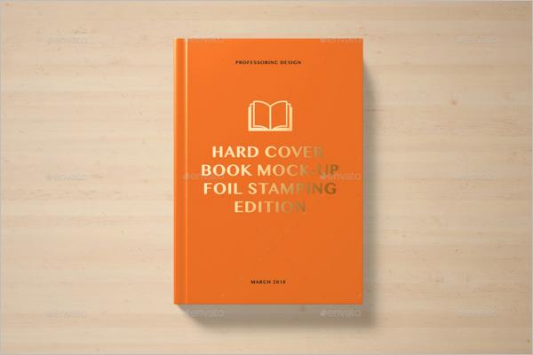 PrintableBook Cover Mockup Design