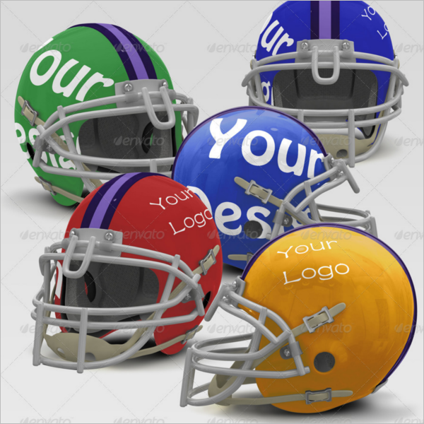 Printable Helmet Mockup Set