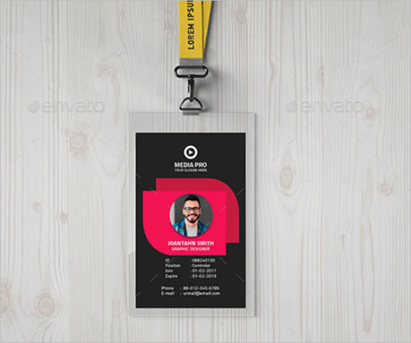 Printable ID Card Template