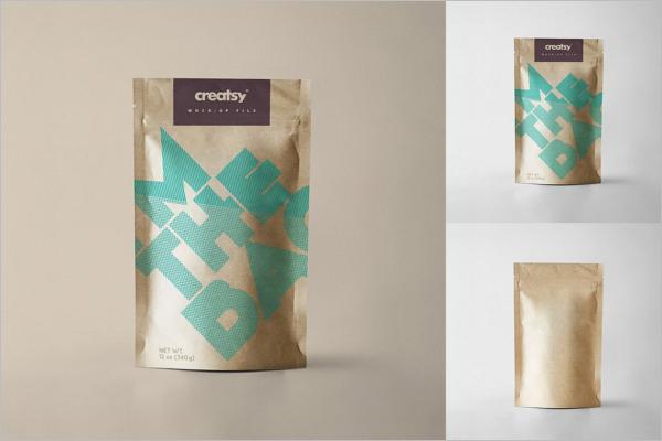PrintablePaper Bag Mockup Template