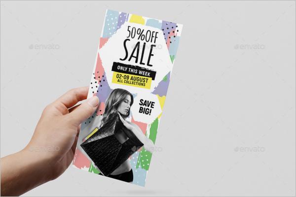 Printable Rack Card Template