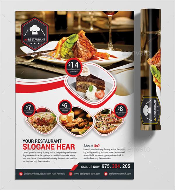PrintableRestaurant Flyer Design