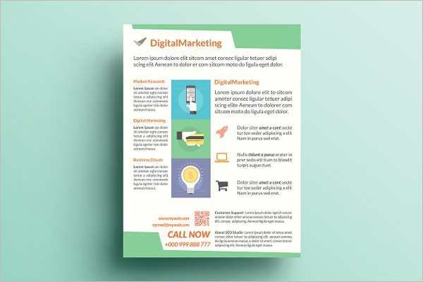 Printable SEO Flyer Template