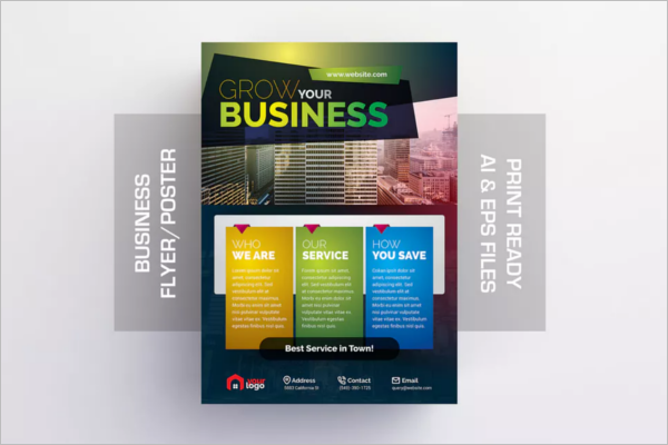 PrintableSmall Business Flyer Template