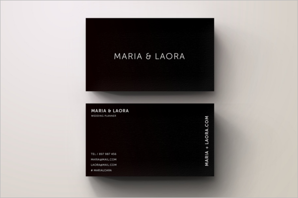 Printable Vintage Business Card Template