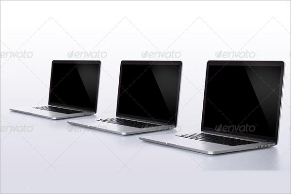 Pro Macbook Mockup Set