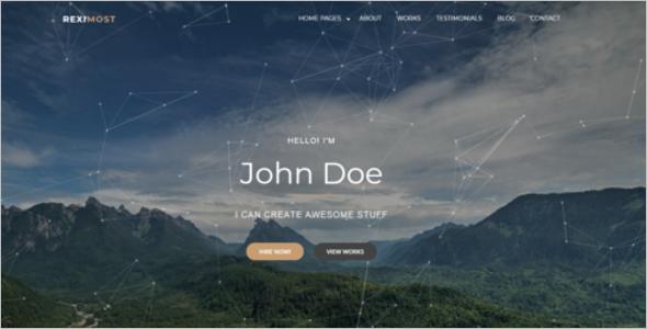 Professional Blog Design Template