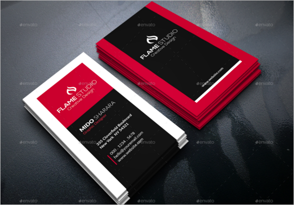 Professional Corporate Business Card Design