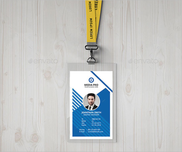 Professional ID Card Template