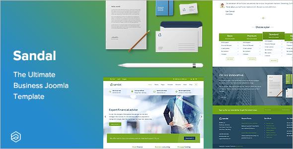 Professional Joomla Design Template