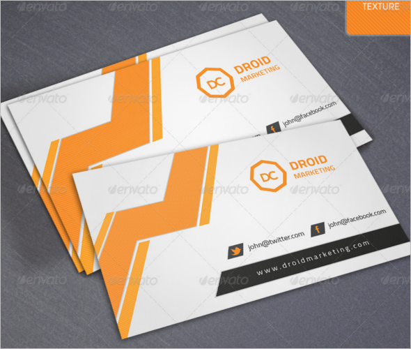 Professional Marketing Business Card Design