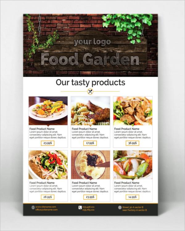 ProfessionalRestaurant Flyer Design