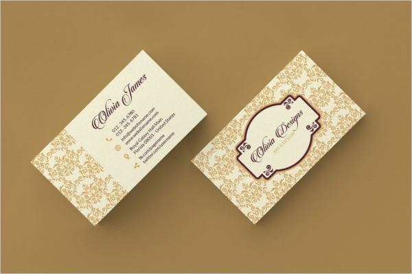 Professional Vintage Business Card Template
