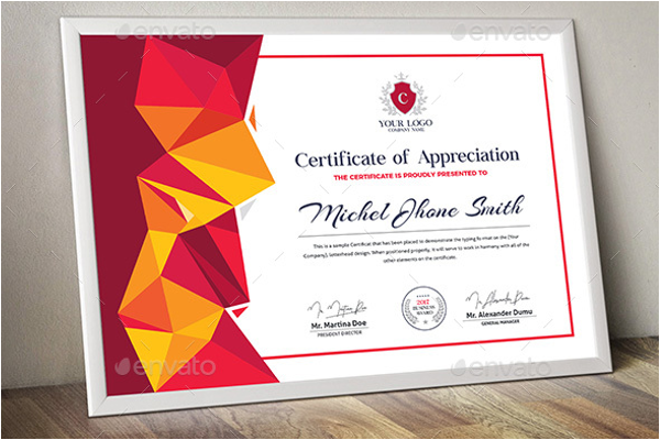 Professional Word Certificate Template