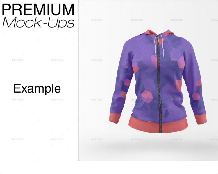 Pullover Hoodie Mockup Design