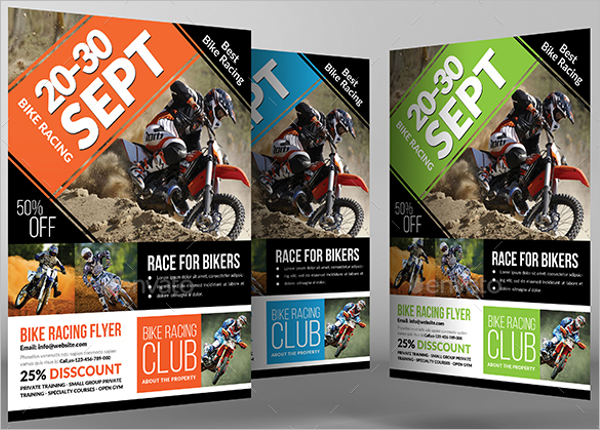 Race Flyer Template